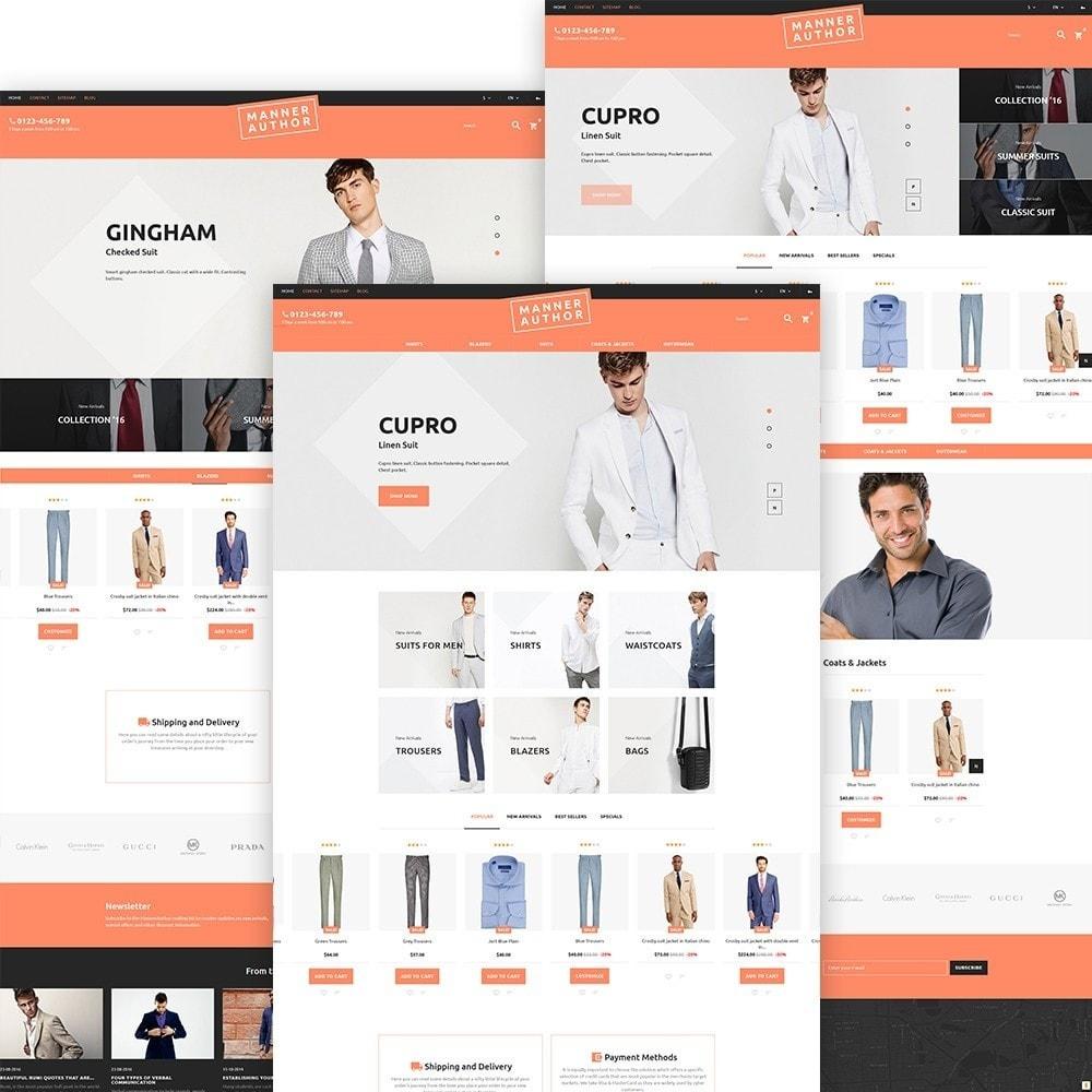 theme - Moda & Calzature - MannerAuthor - Abbigliamento Uomo - 3