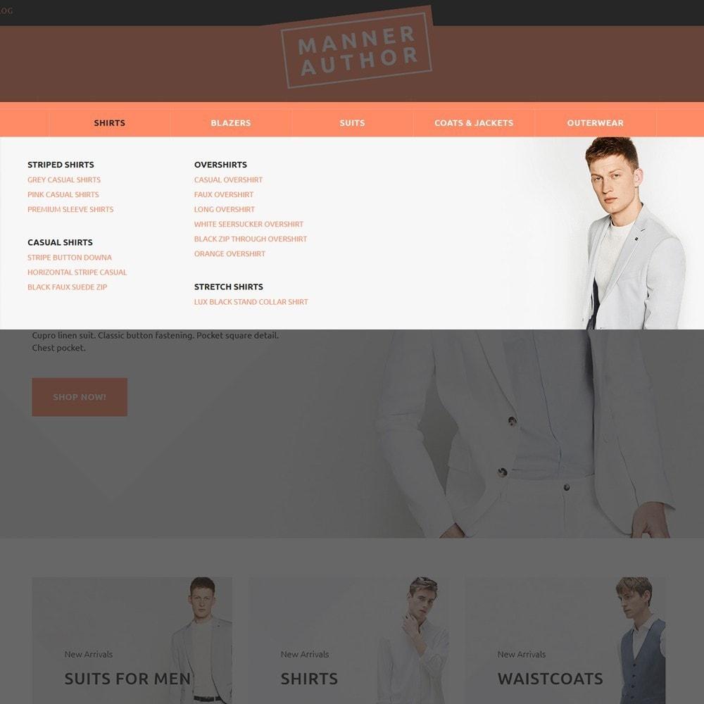 theme - Moda & Calzature - MannerAuthor - Abbigliamento Uomo - 5