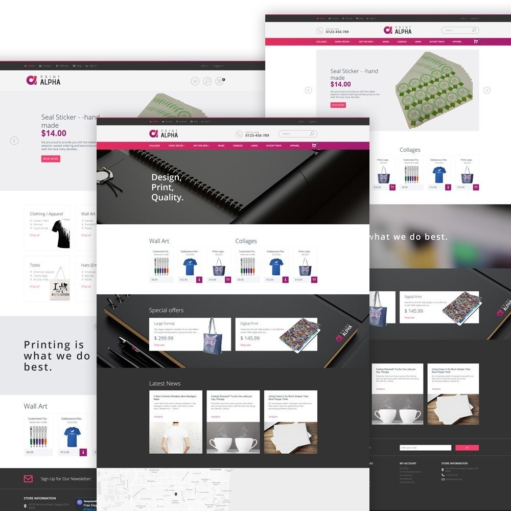 theme - Art & Culture - PrintAlpha - Design & Décor - 3