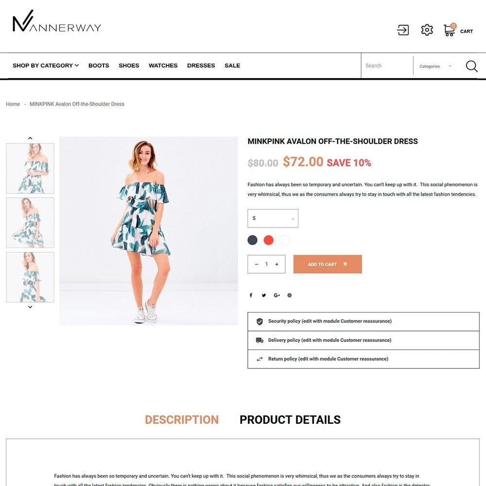 theme - Moda y Calzado - Mannerway - Sitio de Tienda de Ropa - 4