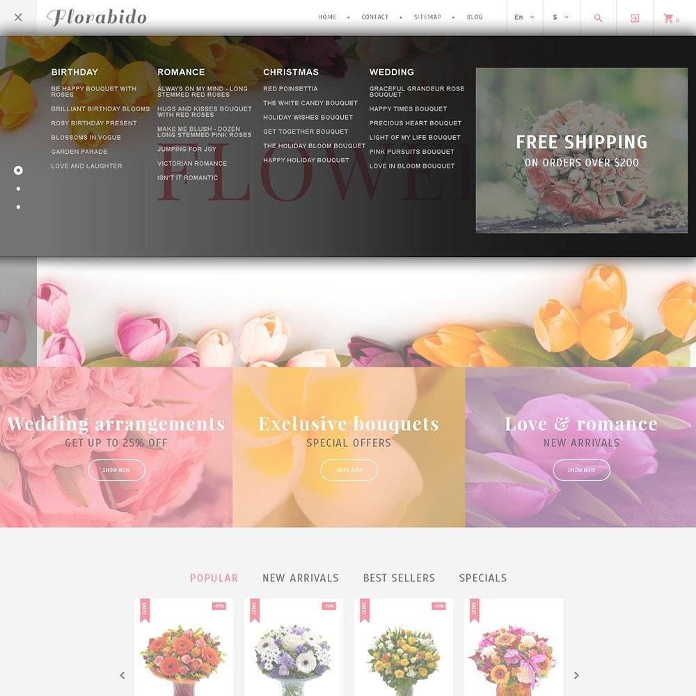 theme - Cadeaux, Fleurs et Fêtes - Florabido - Bouquets et arrangements floraux - 5