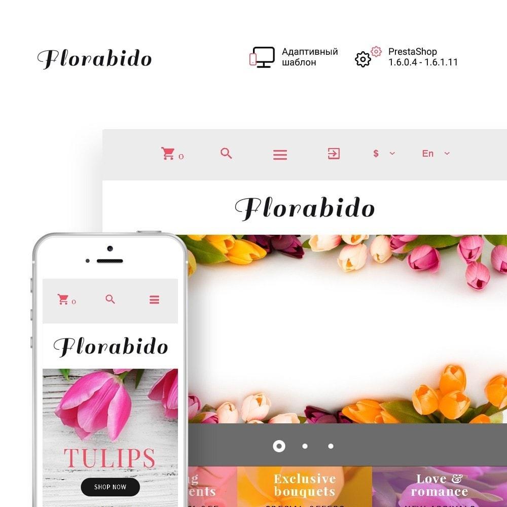 theme - Подарки, Цветы и праздничные товары - Florabido - шаблон цветочного магазина - 7