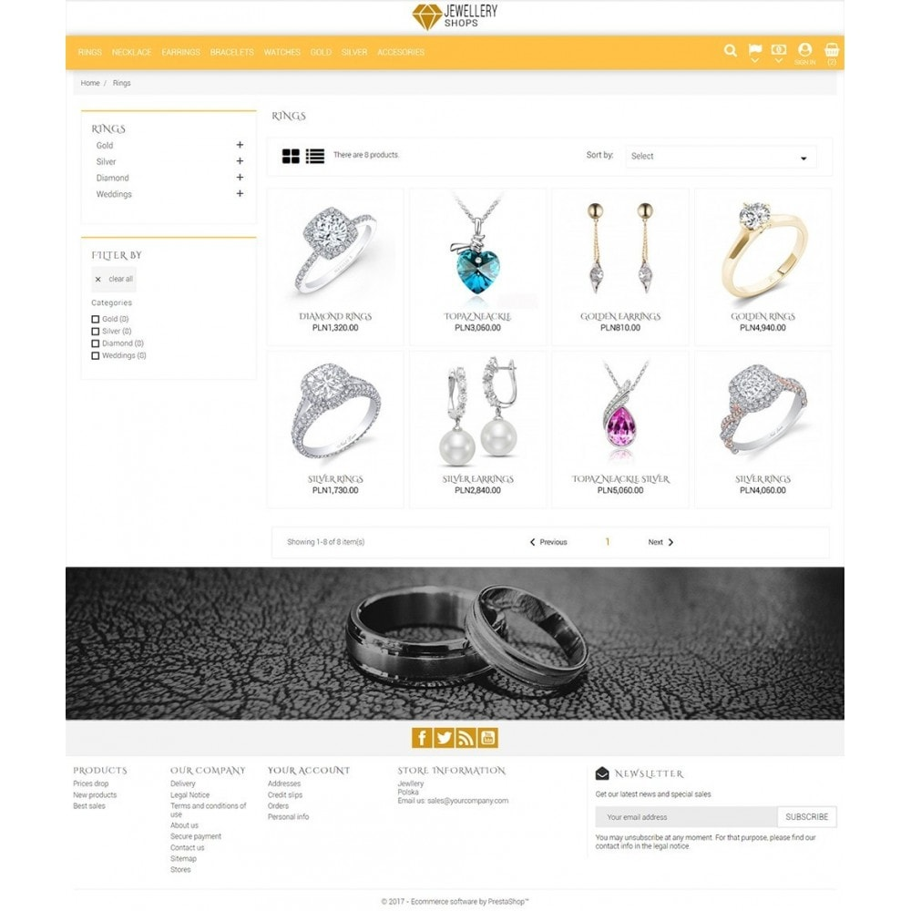 theme - Biżuteria & Akcesoria - Jewellery Shop - 4