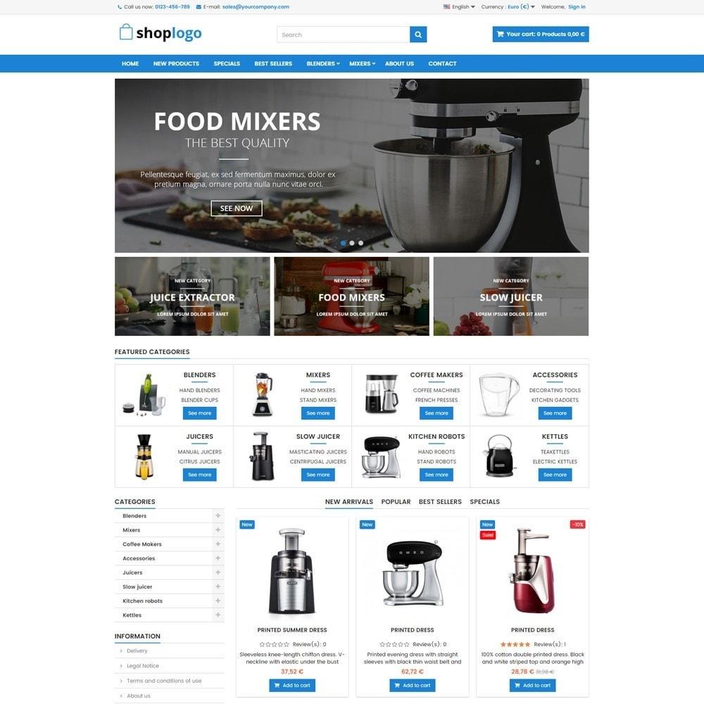 theme - Dom & Ogród - P16AT09 AGD, Akcesoria kuchenne, Wyciskarki, Miksery - 2