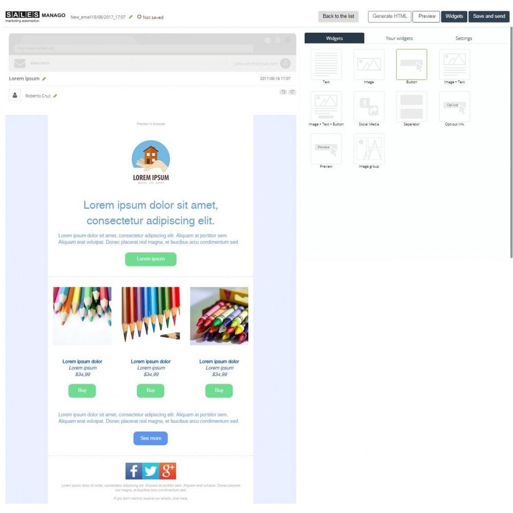 module - Remarketing & Warenkorbabbrüche - SALESmanago Marketing Automatisierung für E-commerce - 4