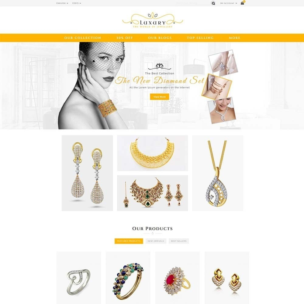 theme - Schmuck & Accesoires - Luxury Jewellery Store - 2