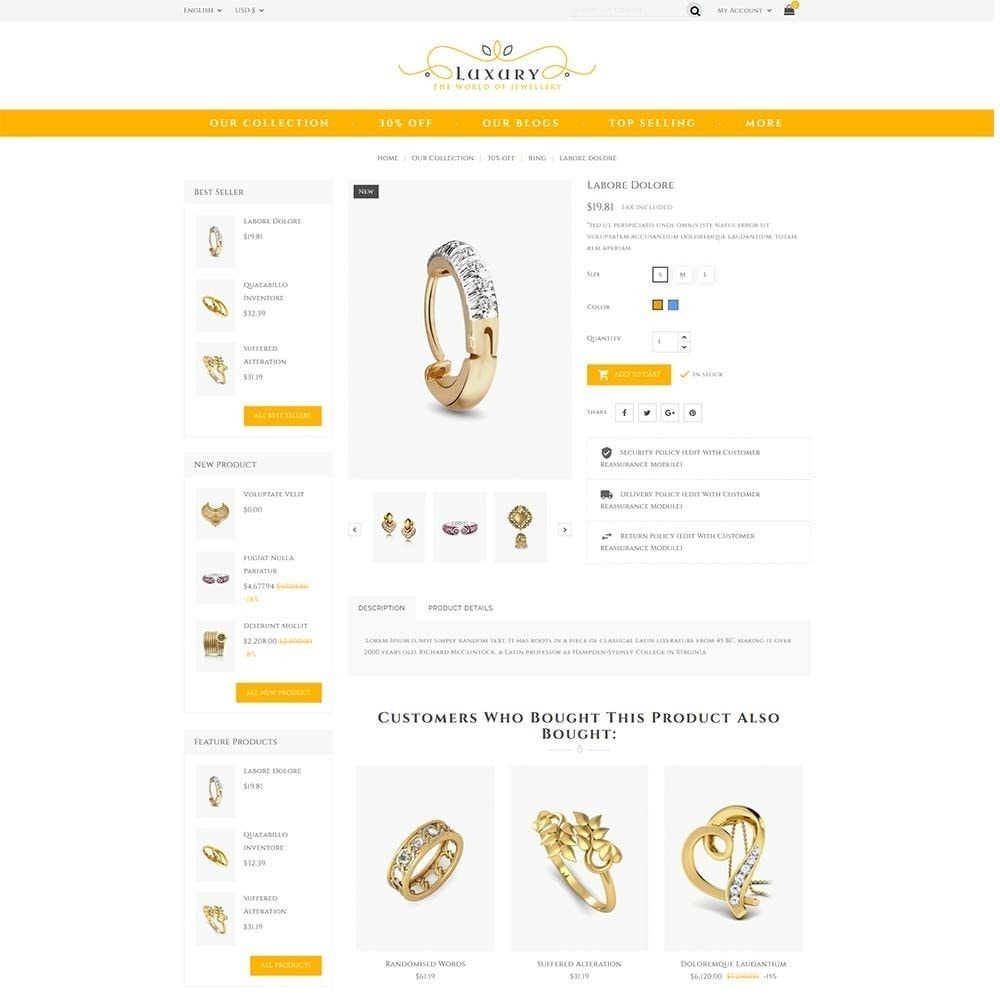 theme - Schmuck & Accesoires - Luxury Jewellery Store - 5
