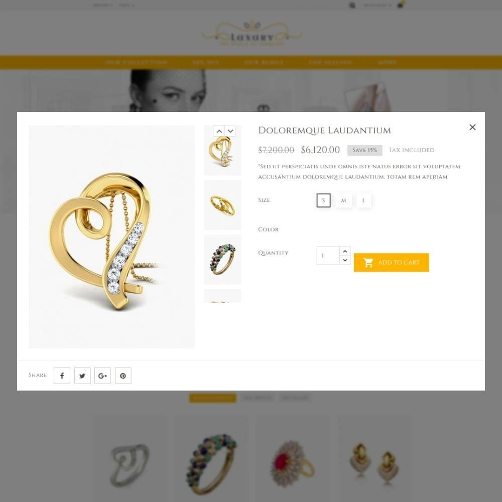 theme - Schmuck & Accesoires - Luxury Jewellery Store - 11