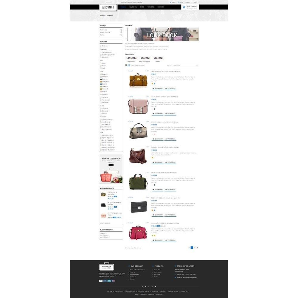 theme - Moda & Calçados - Novolex Handbag Store - 4