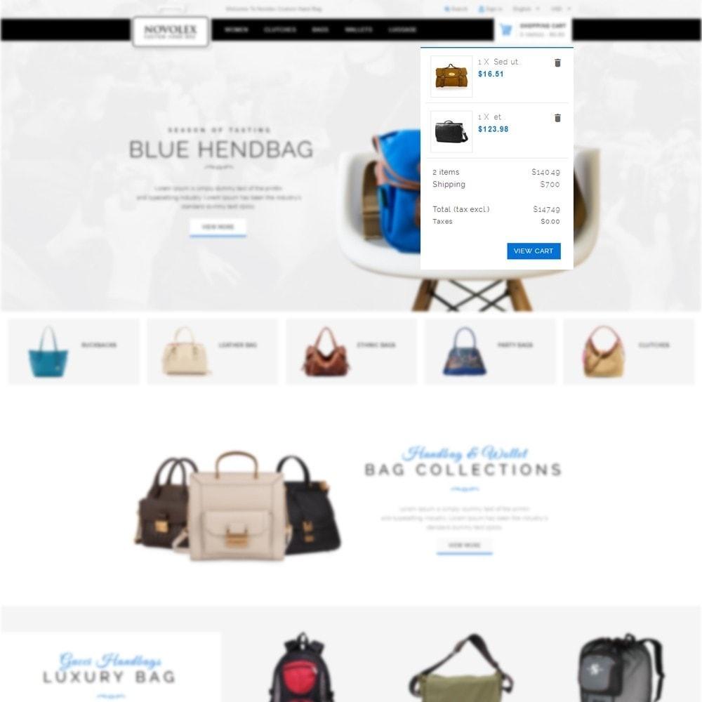 theme - Мода и обувь - Novolex Handbag Store - 6