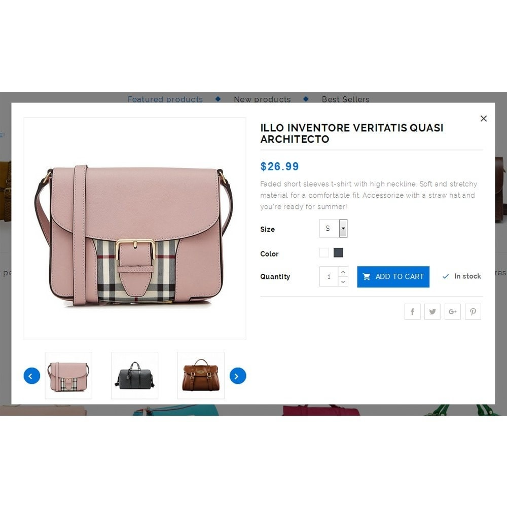 theme - Мода и обувь - Novolex Handbag Store - 7