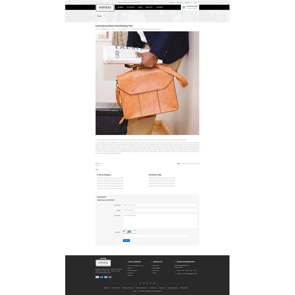theme - Moda & Calçados - Novolex Handbag Store - 8