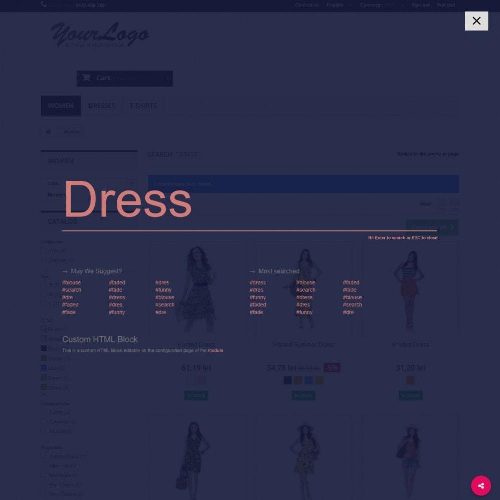 module - Suche & Filter - MEGA Search - Mehrfache Design-Suchblock - 7