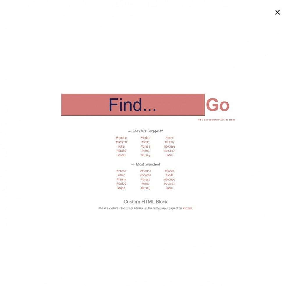 module - Wyszukiwanie & Filtry - Wyszukiwanie MEGA - wiele bloków wyszukiwania szablonów - 12
