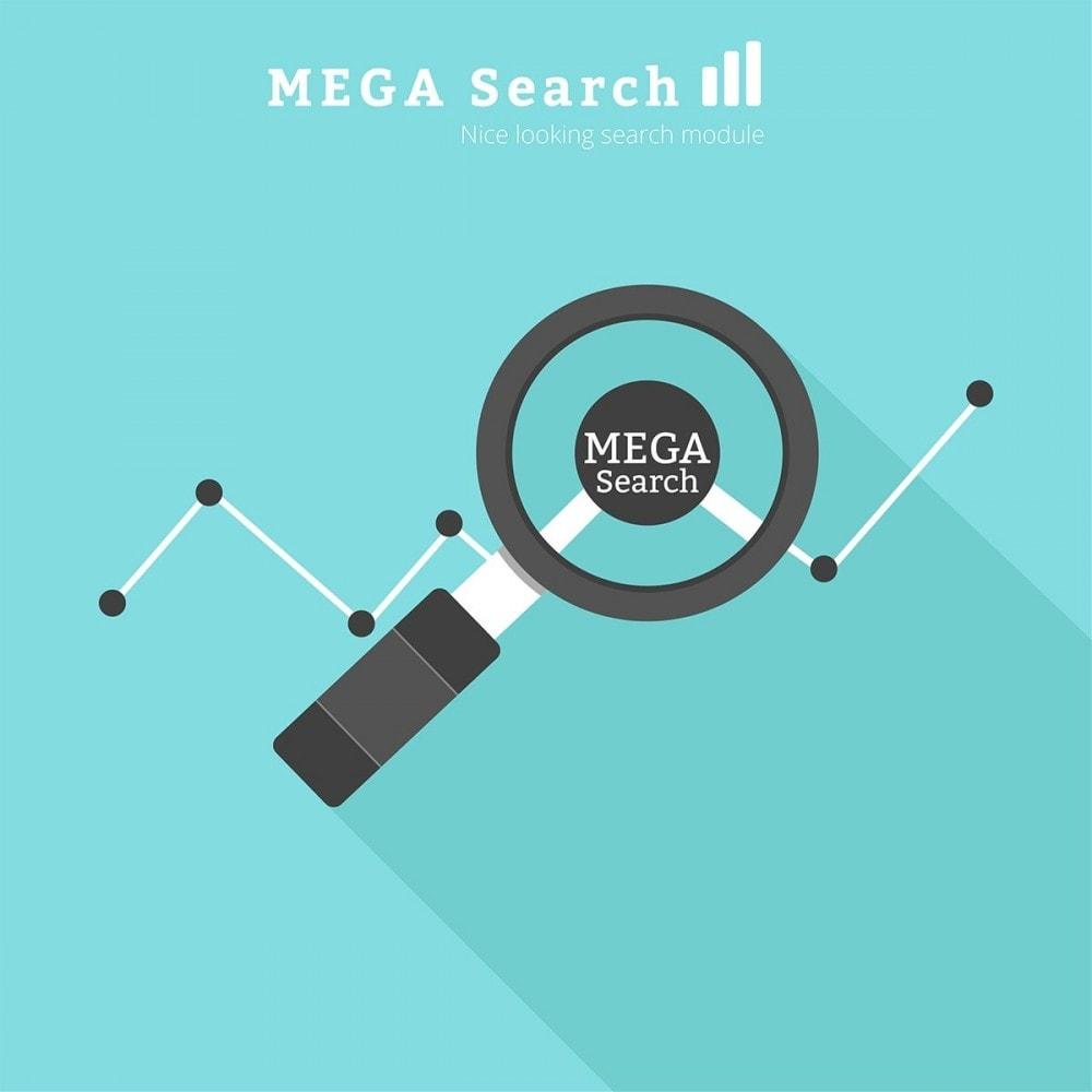 module - Pesquisa & Filtros - MEGA Search - bloco de pesquisa de modelo múltiplo - 1