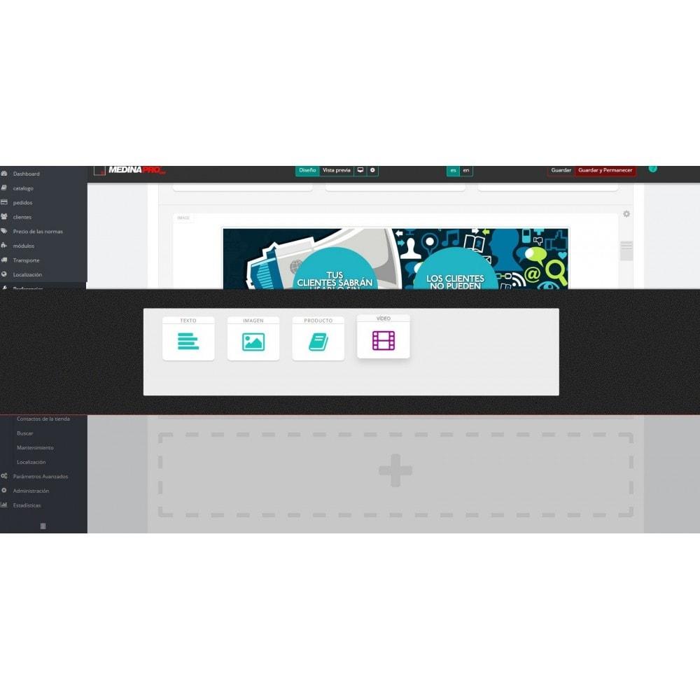 module - Personalización de la página - MedinaPro diseñador de páginas 10 en 1 - 5