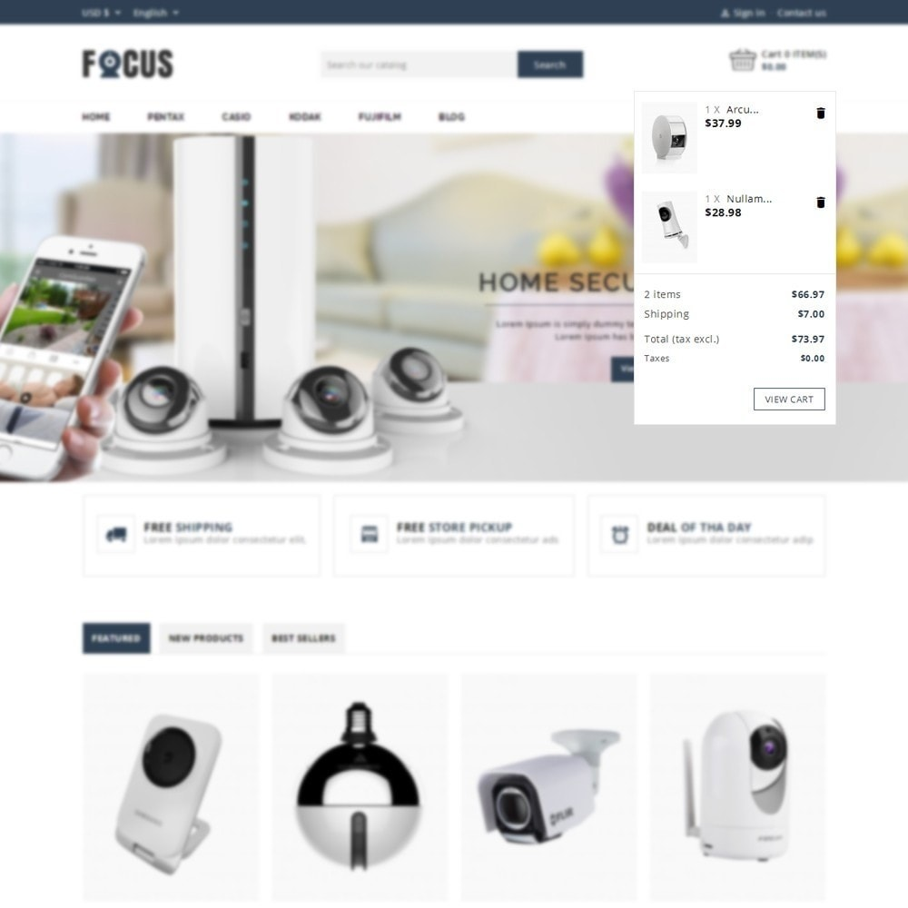 theme - Elettronica & High Tech - Focus -The Camera Shop - 7