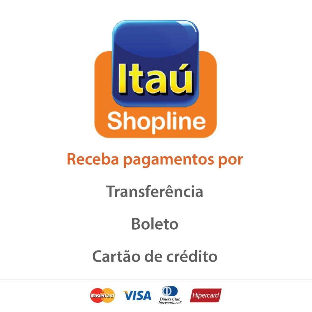 module - Pagamento por cartão ou por carteira - Pagamento por Itau Shopline - 1