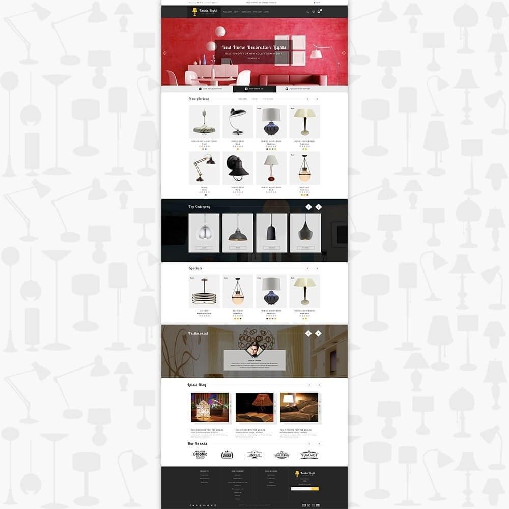 theme - Дом и сад - Tienda Light Store - 2
