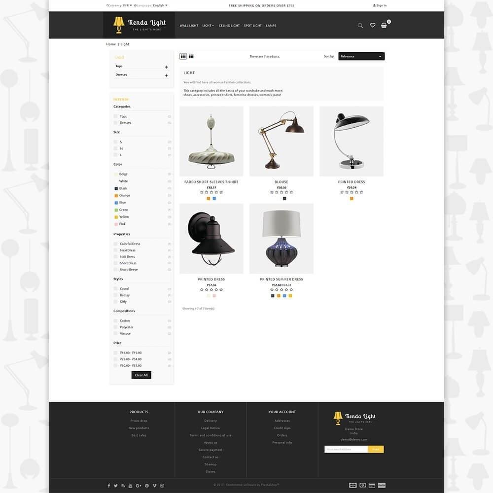 theme - Huis & Buitenleven - Tienda Light Store - 3