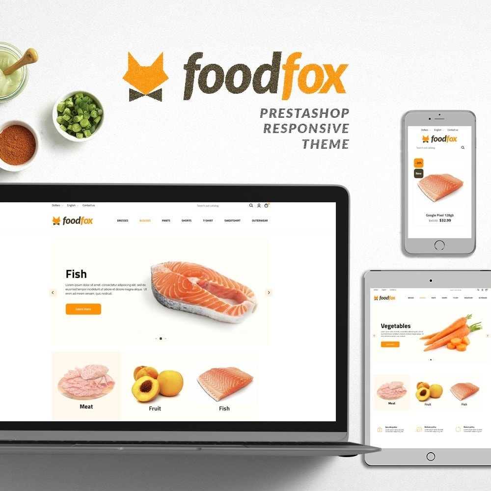 theme - Food & Restaurant - Foodfox - 1