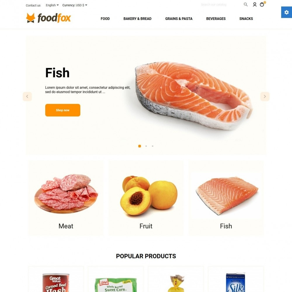 theme - Food & Restaurant - Foodfox - 2