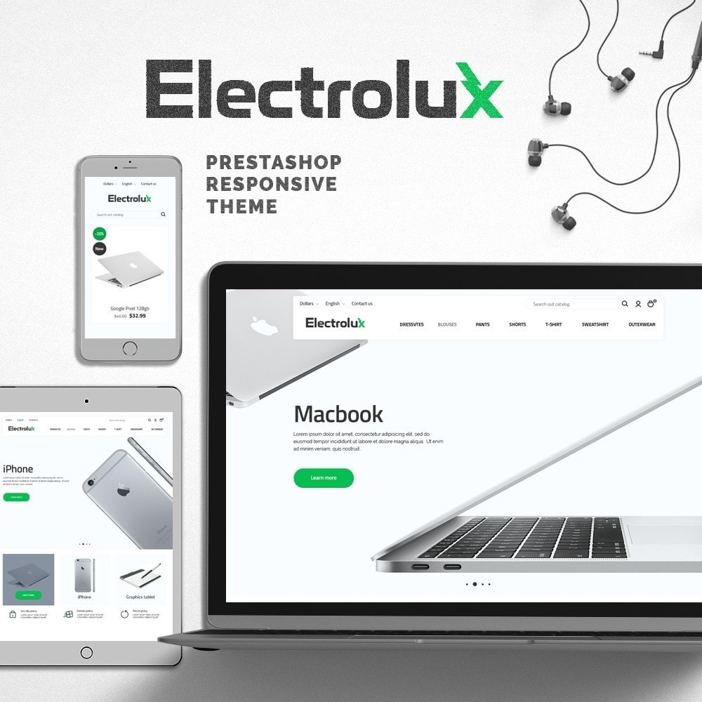 theme - Elektronika & High Tech - Electrolux - High-tech Shop - 1