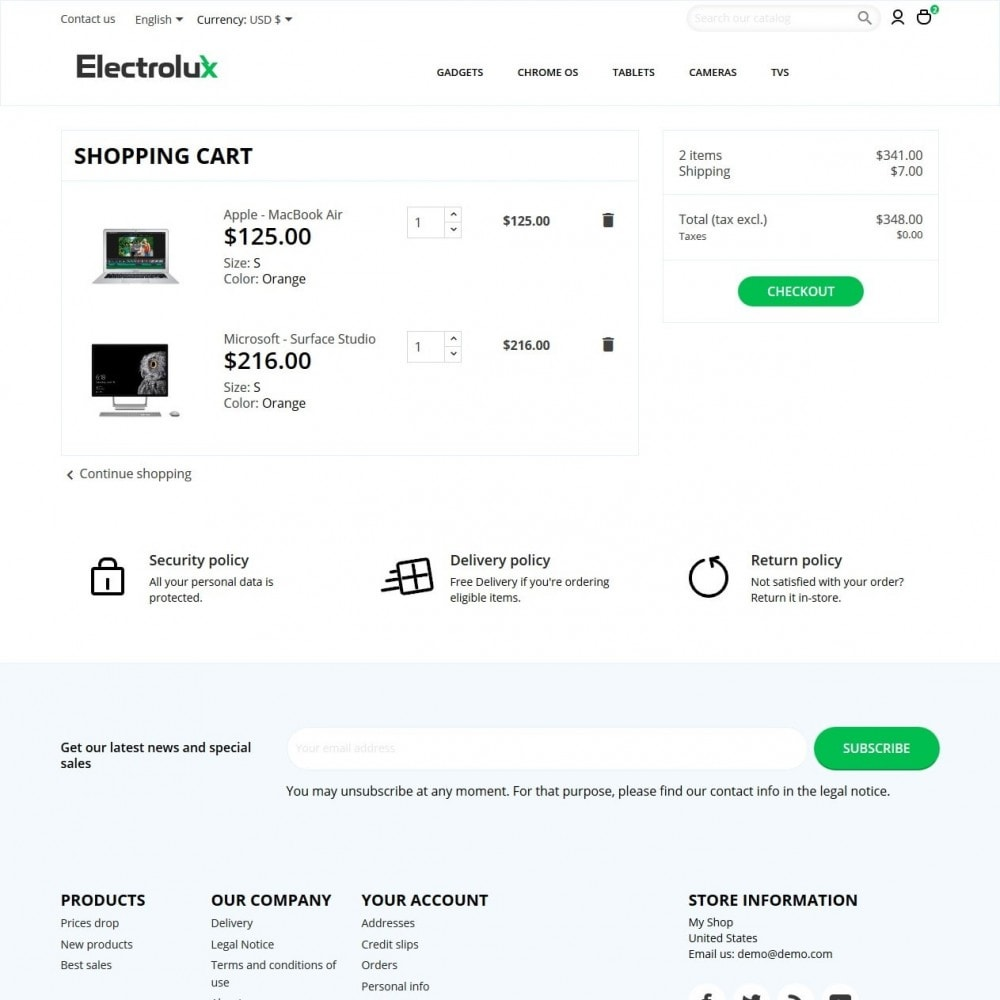 theme - Elektronika & High Tech - Electrolux - High-tech Shop - 7