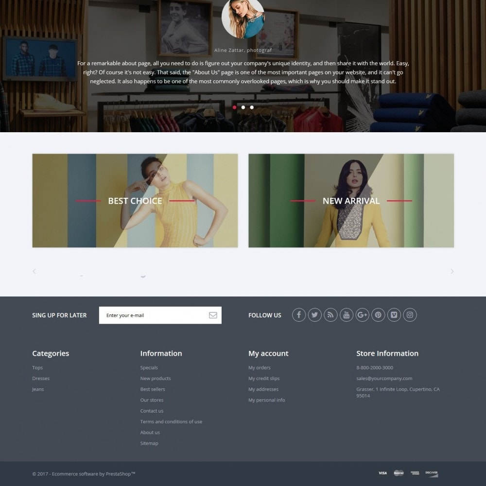 theme - Fashion & Shoes - Grasser Fashion Store - 4