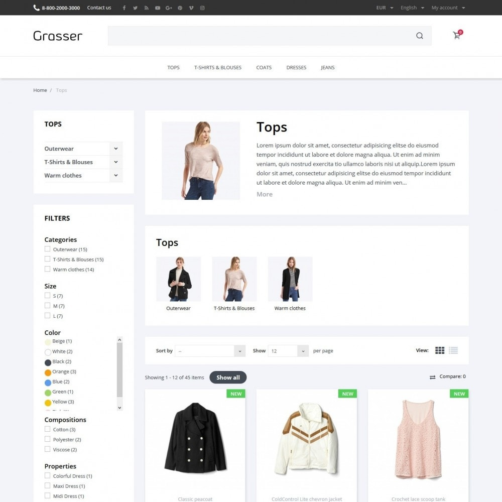theme - Fashion & Shoes - Grasser Fashion Store - 5