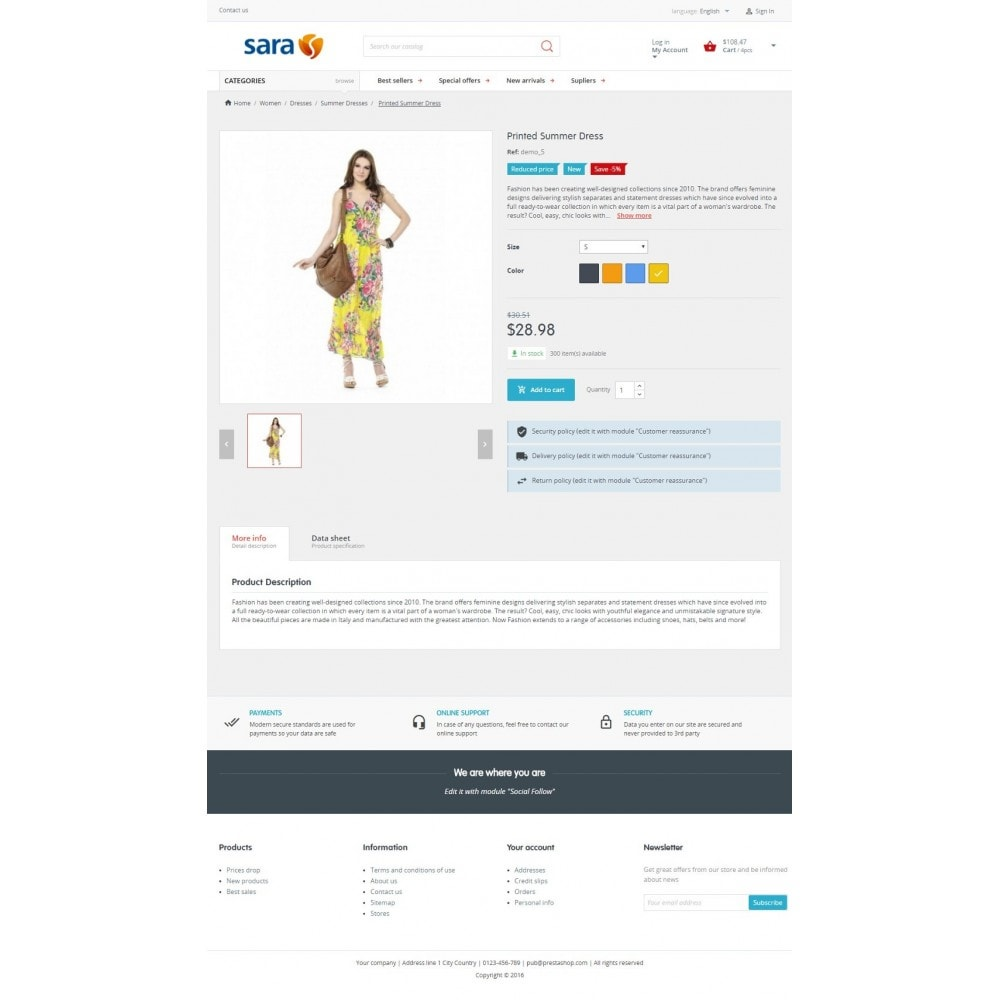 theme - Moda & Calçados - Sara Fashion - 3
