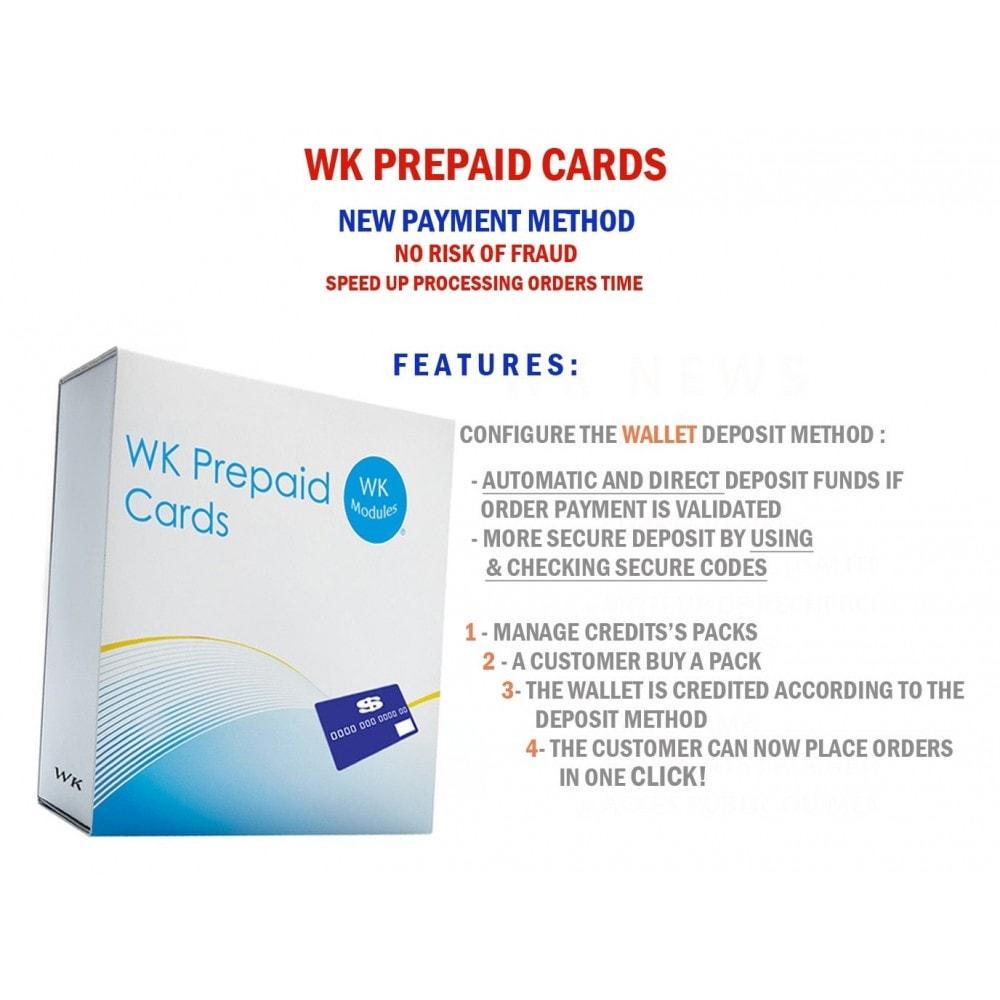 module - Prepayment - WK Prepaid Cards - 1