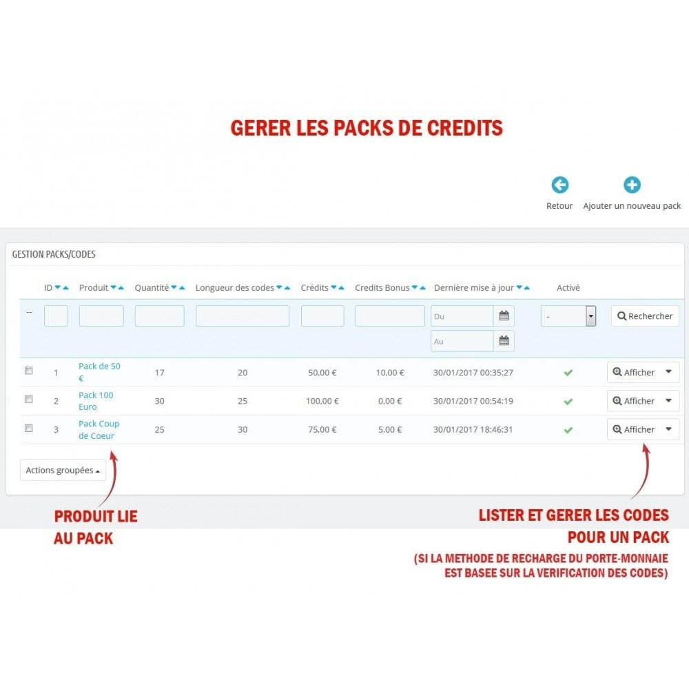 module - Prépaiement - Wk Cartes Prépayées - 5