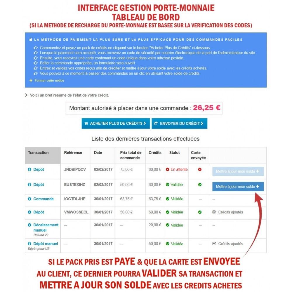 module - Prépaiement - Wk Cartes Prépayées - 13