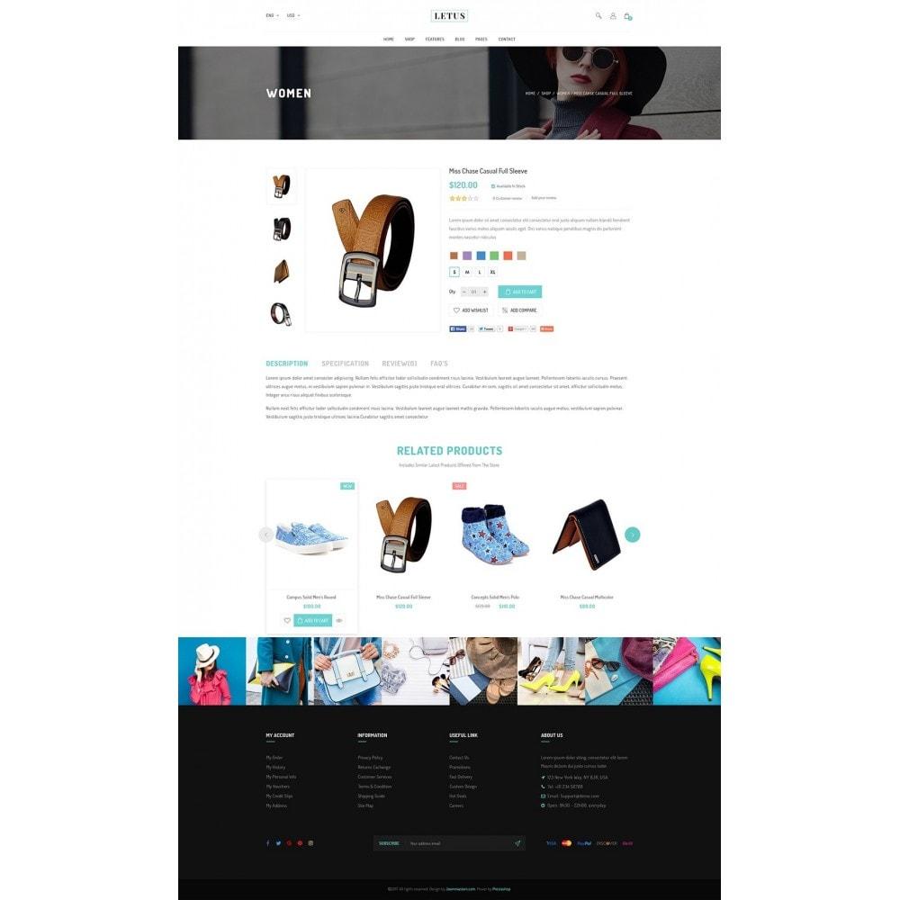 theme - Fashion & Shoes - JMS Letus - 10