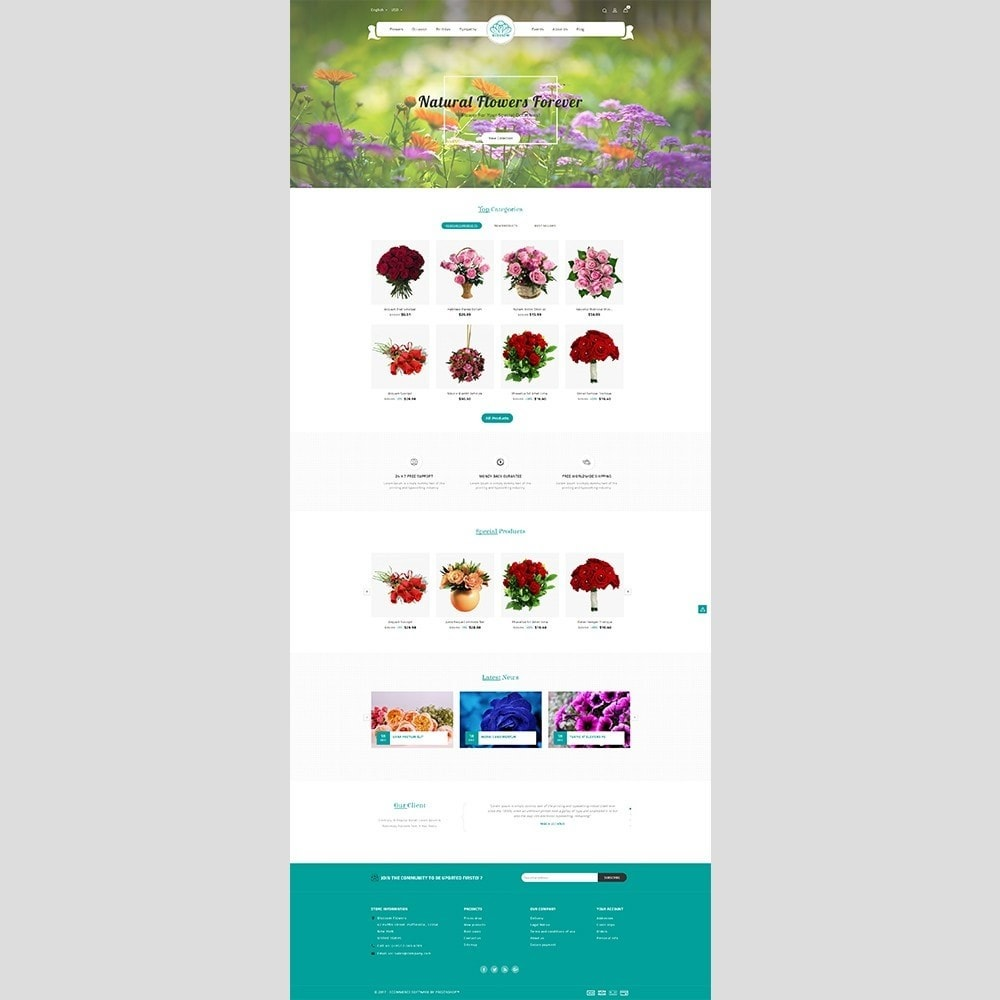theme - Gifts, Flowers & Celebrations - Blossom Flower - 2