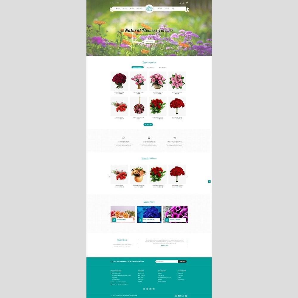 theme - Cadeaux, Fleurs et Fêtes - Blossom Flower - 2