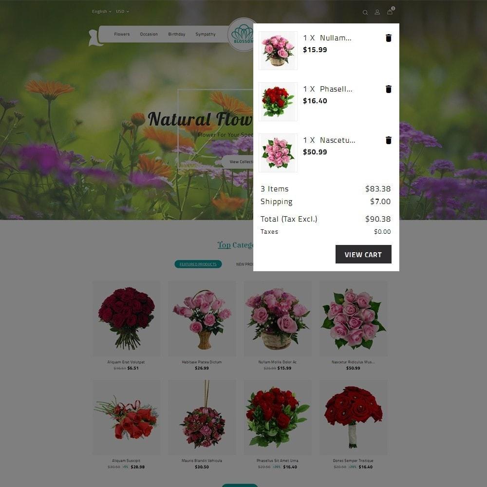 theme - Cadeaux, Fleurs et Fêtes - Blossom Flower - 9