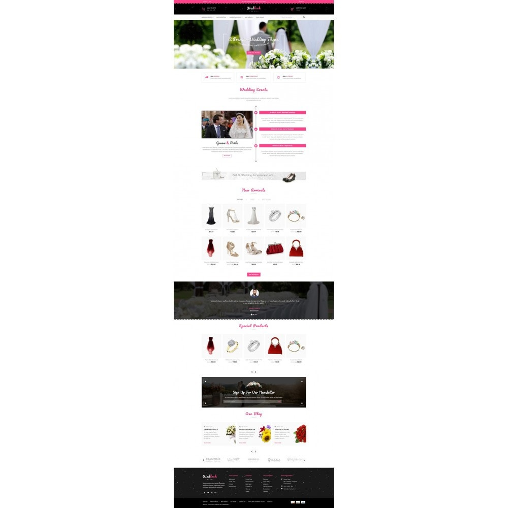 theme - Gifts, Flowers & Celebrations - Wedlock Wedding Store - 2