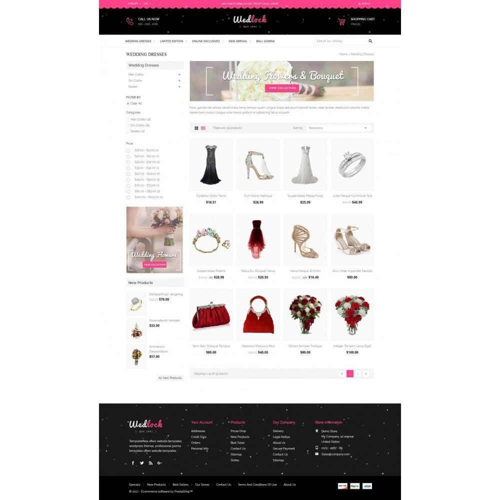 theme - Cadeaux, Fleurs et Fêtes - Wedlock Wedding Store - 3
