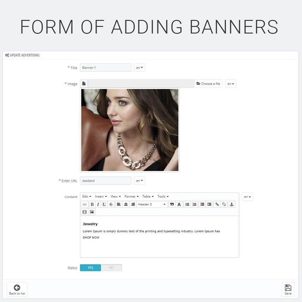 module - Blocos, Guias & Banners - Banner Manager - 5