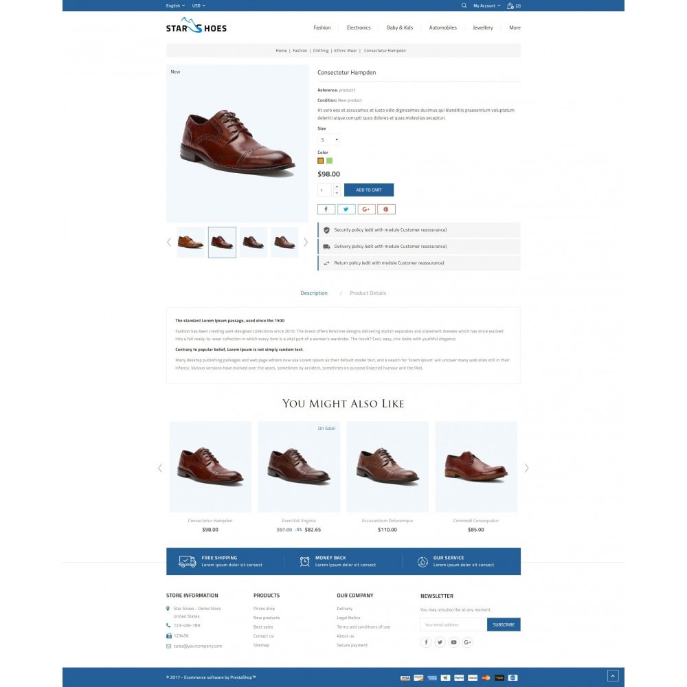 theme - Mode & Schuhe - Online Shoes Store - 5