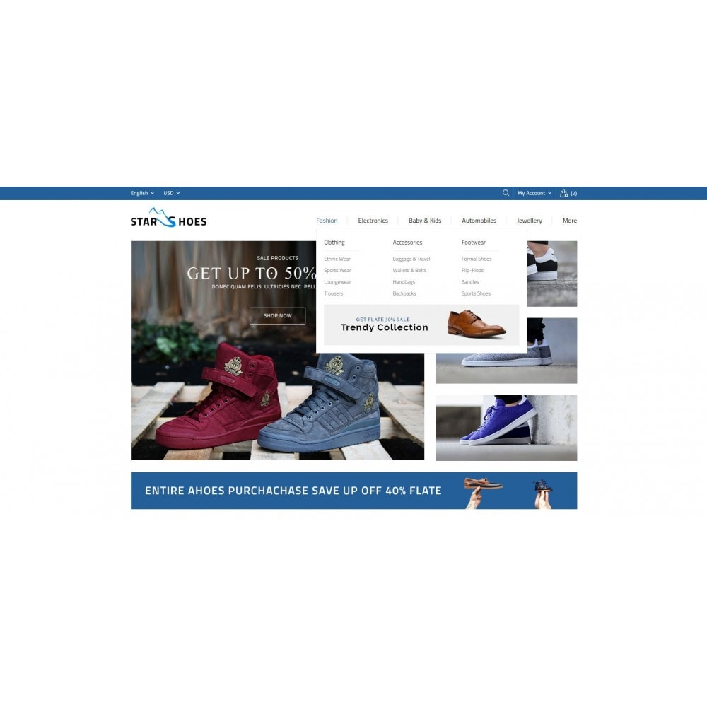 theme - Mode & Chaussures - Online Shoes Store - 6