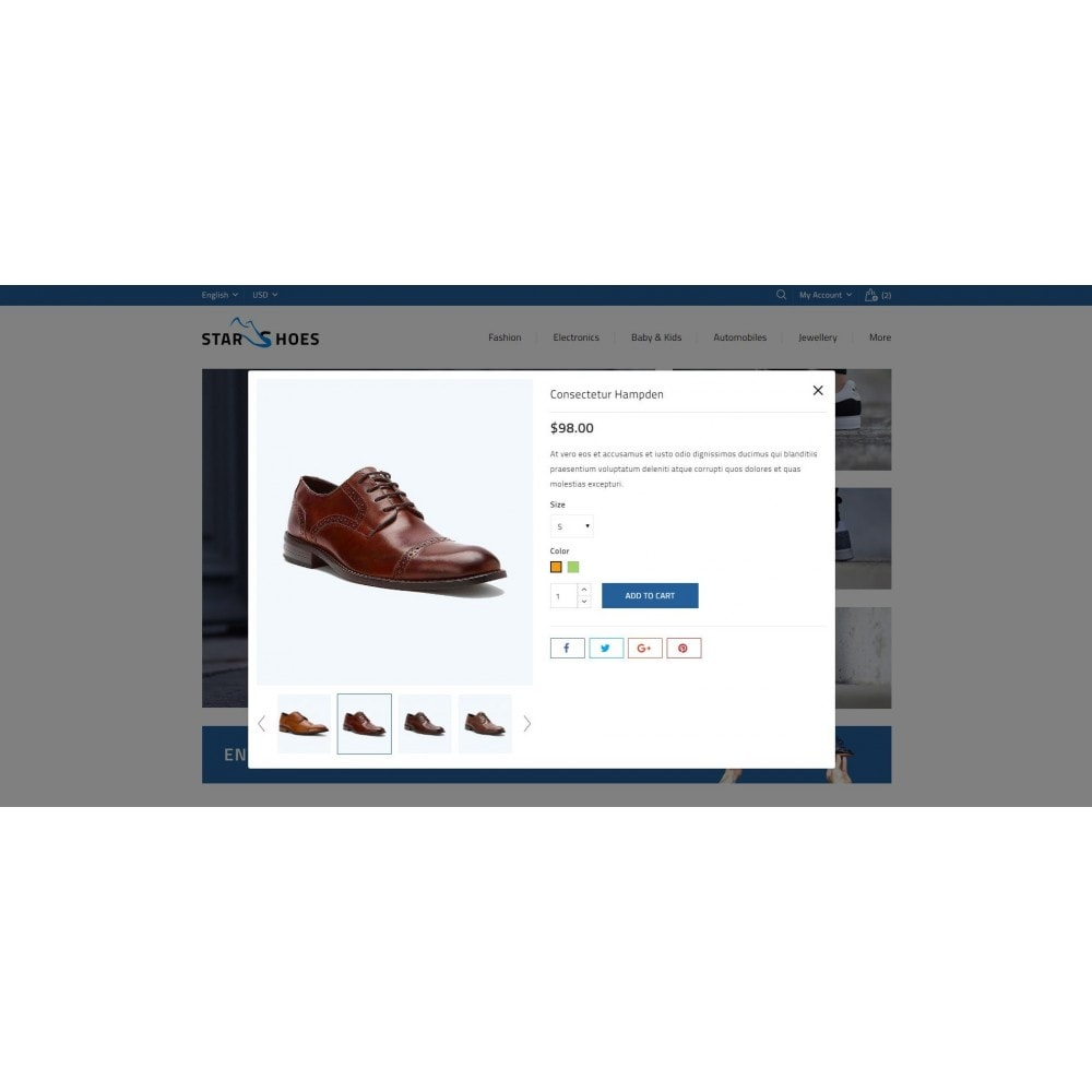 theme - Mode & Chaussures - Online Shoes Store - 7