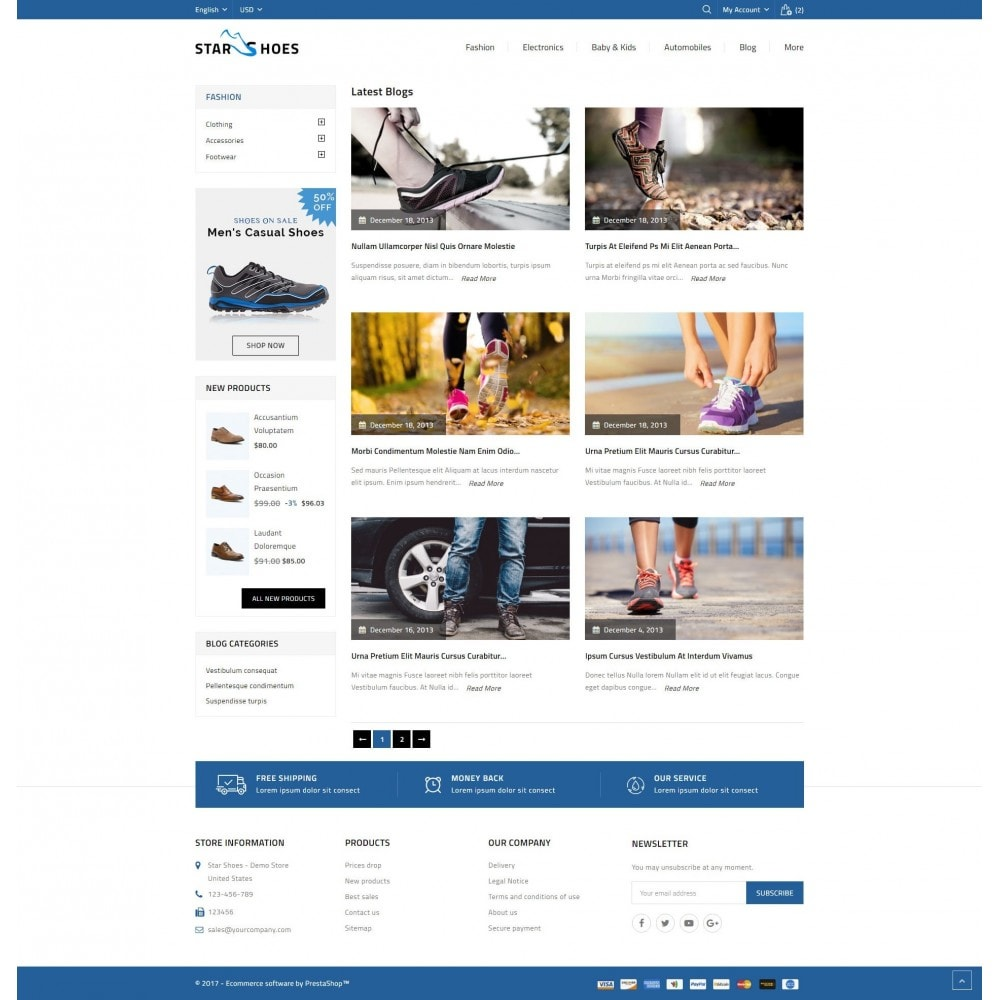 theme - Mode & Chaussures - Online Shoes Store - 9