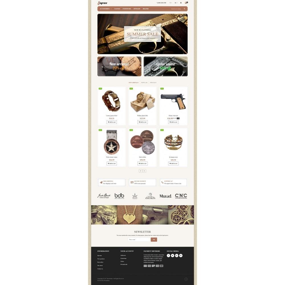 theme - Arte e Cultura - VP_Engrave Store - 2