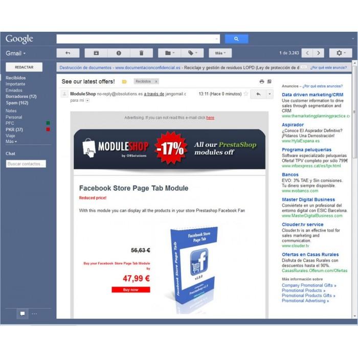 module - Boletim informativo & SMS - Newsletter Maker Pro - 2