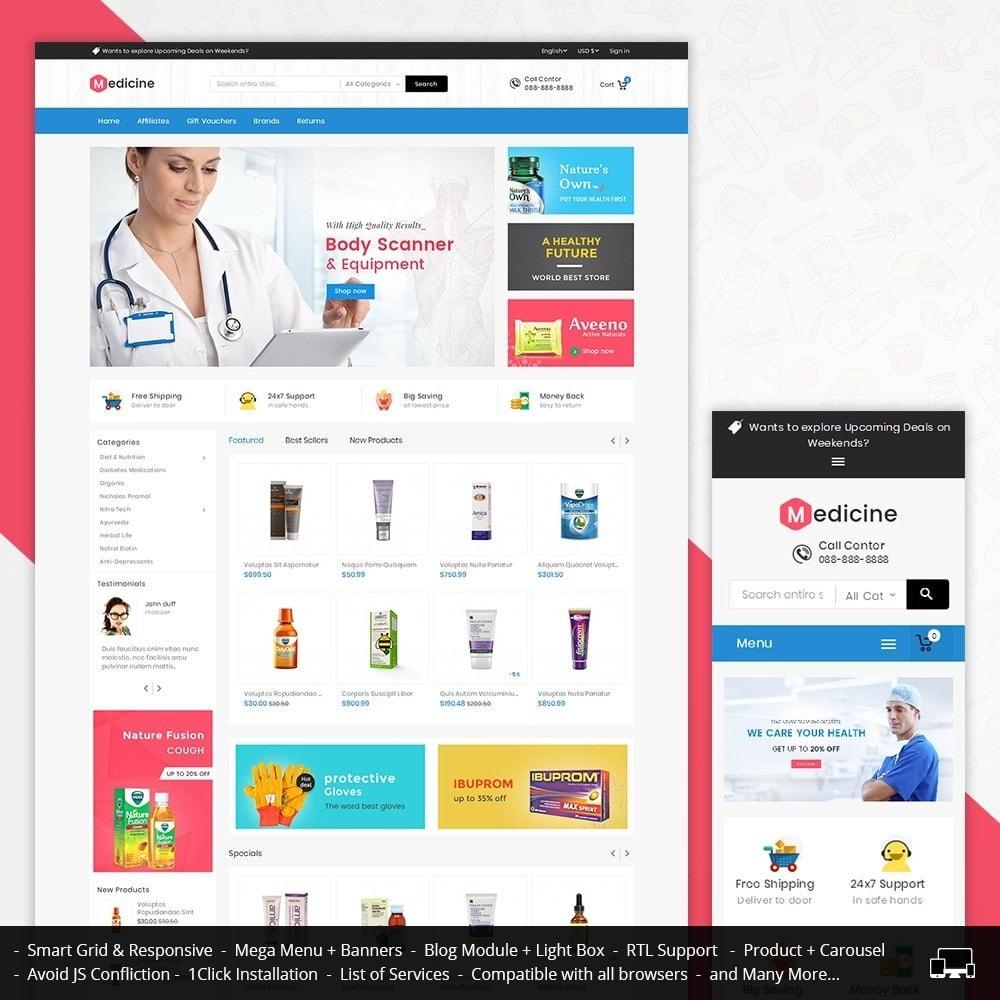theme - Zdrowie & Uroda - Mega Medicine Store - 1