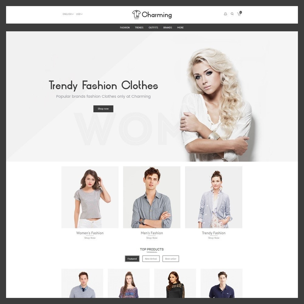 theme - Mode & Chaussures - Charming Fashion Store - 2