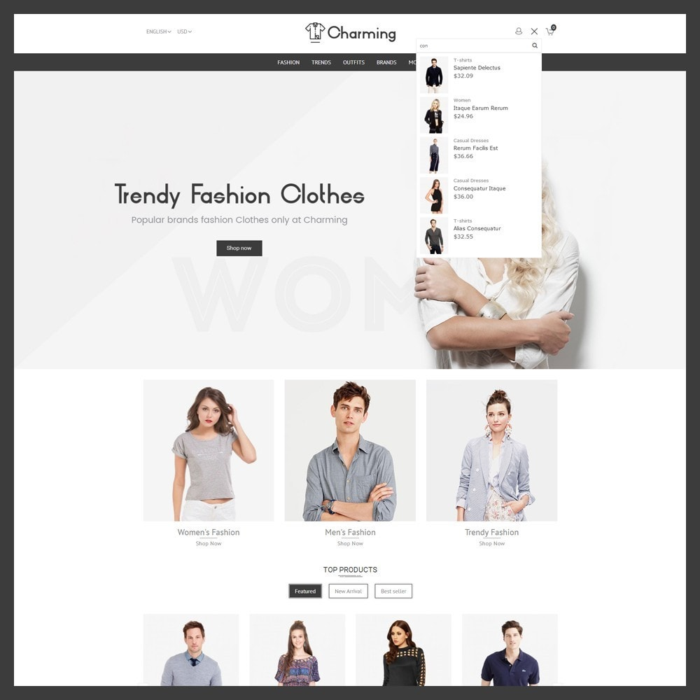 theme - Moda & Calzature - Charming Fashion Store - 5